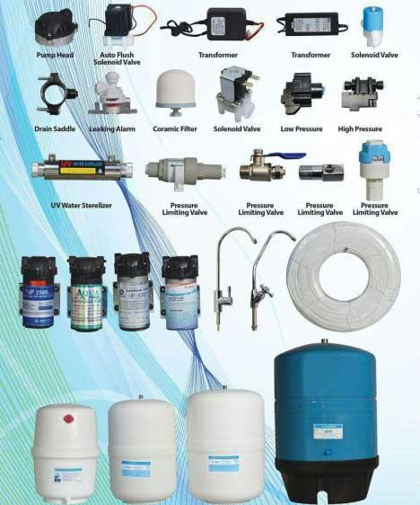 اجزاء دستگاه تصفیه آب صنعتی RO