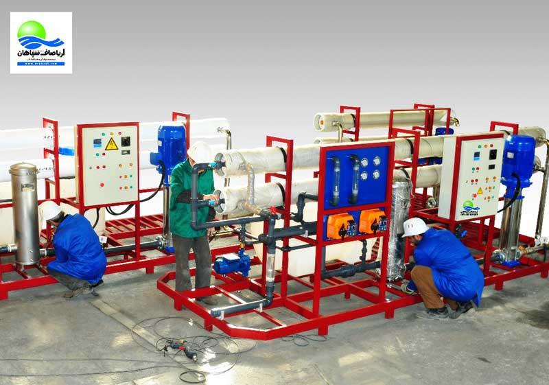 آب شیرین کن صنعتی خرید شرکت سازنده
