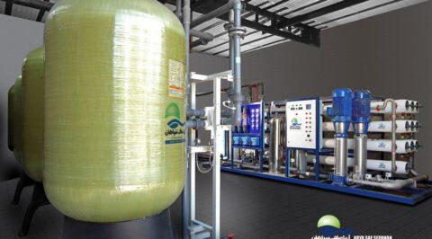 آب شیرین کن صنعتی و سختی گیر اب رزینی و کربنی