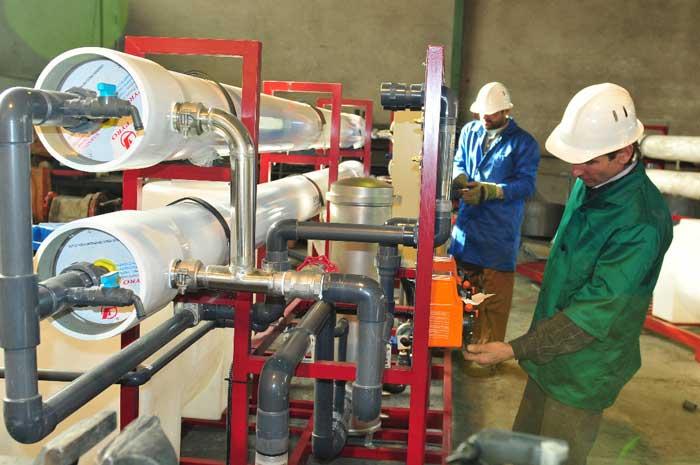 شرکت سازنده دستگاه های تصفیه آب صنعتی RO