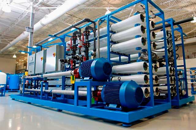 دستگاه تصفیه آب صنعتی ro آب شیرین کن صنعتی تصفیه اب صنعتی