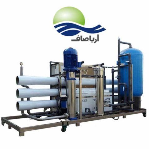 دشتگاه تصفیه آب صنعتی پر فشار با حجم 300 متر مکعبی تولید و سفارش و خرید آنلاین وانیترنتی و تلفنی در سراسر ایران