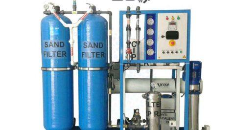 تولید دستگاه تصفیه آب و آبشیرین کن صنعتی با حجم 25 و 20 مترمکعبی خرید انلاین و سفارش اینترنتی از آریا صاف