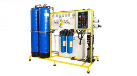 تولید و خرید و سفارش دستگاه تصفیه و آب شیرین کن صنعتی حجم 5 متر مکعبی معمولی برای EC کمتر از 8000