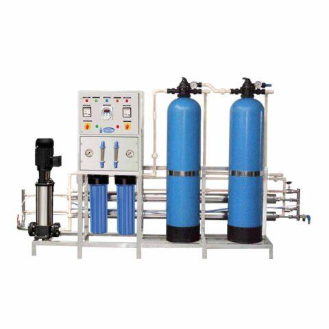 تولید و ساخت دستگاه تصفیه آب صنعتی با مترمکعب دلخواه توسط شرکت آریا صاف