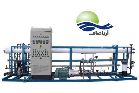 مشخصات آب شیرین کن صنعتی 170 مترمکعبی سفارش دستگاه تصفیه آب صنعتی اسمز معکوس