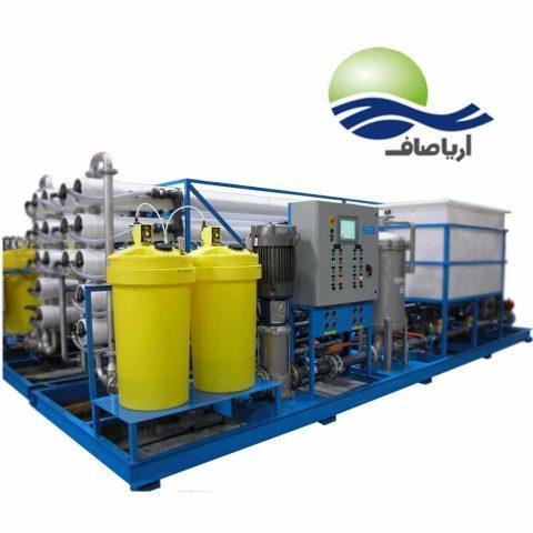 سفارش دستگاه تصفیه آب صنعتی با حجم 180 مترمکعبی در سراسر ایران با قیمت مناسب آریا صاف