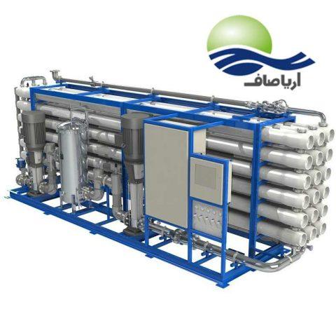 سفارش دستگاه آبشیرین کن صنعتی با حجم 190 مترمکعبی
