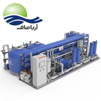 مشخصات دستگاه آب شیرین کن صنعتی 210 مترمکعبی